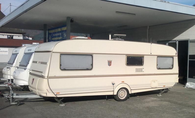 details wohnwagen tabbert 560 fahrinurlaub caravan. Black Bedroom Furniture Sets. Home Design Ideas